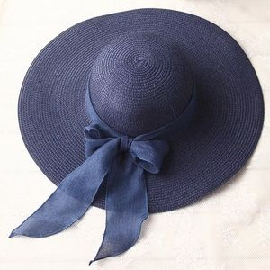 Summer/Spring Elegant Blue Hat